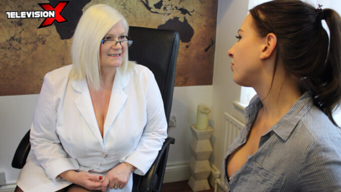 Lacey Starr Returns to Television X in 'Dr. Lacey, Sex Therapist'