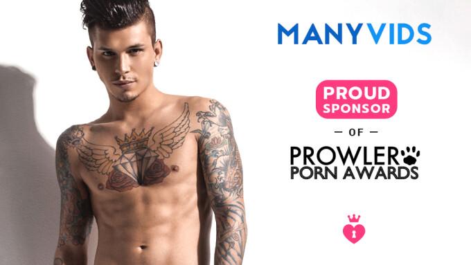 ManyVids Sponsors Prowler European Porn Awards