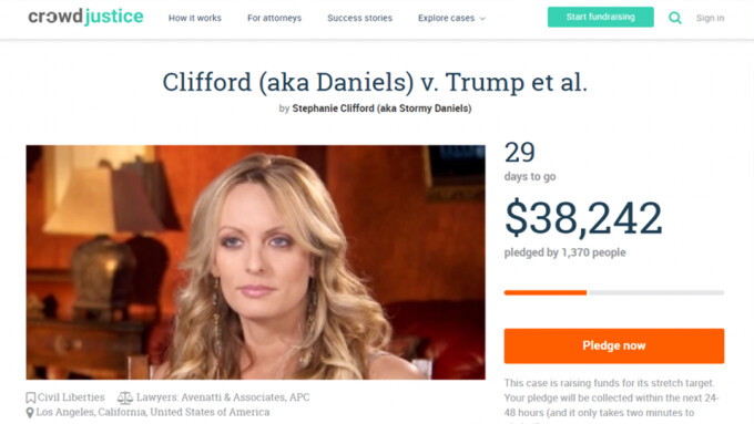Stormy Daniels Launches Fundraiser to Help Pay Legal Tab