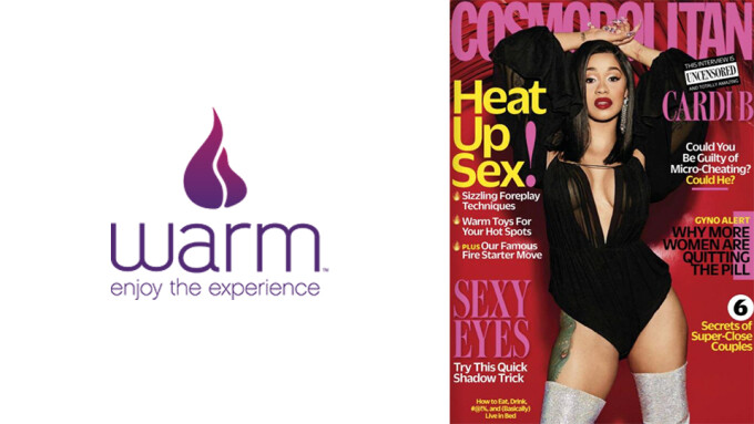 Warm Featured in Cosmopolitan Magazine's April Issue