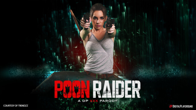 Kimmy Granger, Rina Ellis Star in 'Poon Raider: A DP XXX Parody'