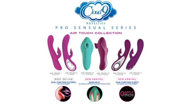 Cloud 9 Novelties Expands Air Touch Product Line