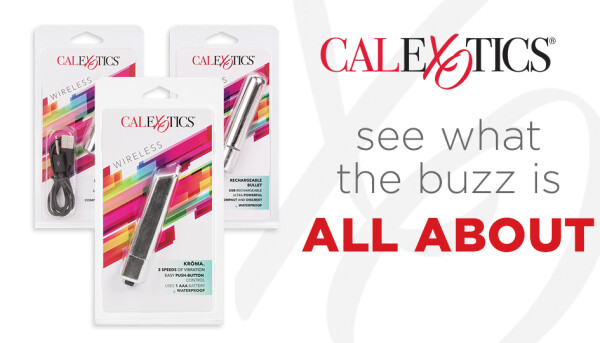 CalExotics Now Shipping Three New Bullet Vibes