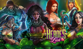 Nutaku Offers Super Hippo's RPG 'Heroes of Lust'