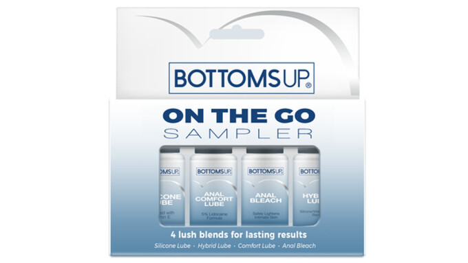 Topco Releases 'Bottoms Up' Anal Lubes in Travel-Friendly Sizes