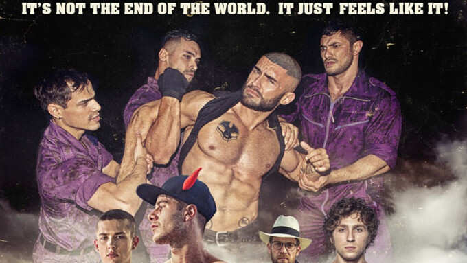 CockyBoys Releases Bruce LaBruce's 'Purple Army Faction'