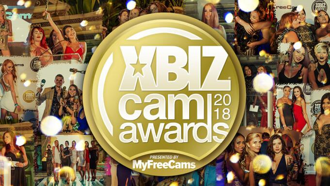 XBIZ Cam Awards 2018 Finalist Nominees Announced