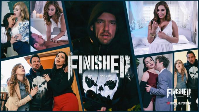 Johnny Castle, Dana DeArmond Star in Digital Playground's 'The Finisher' Parody