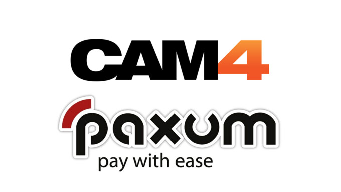 CAM4 Now Offering Performer Payouts With Paxum