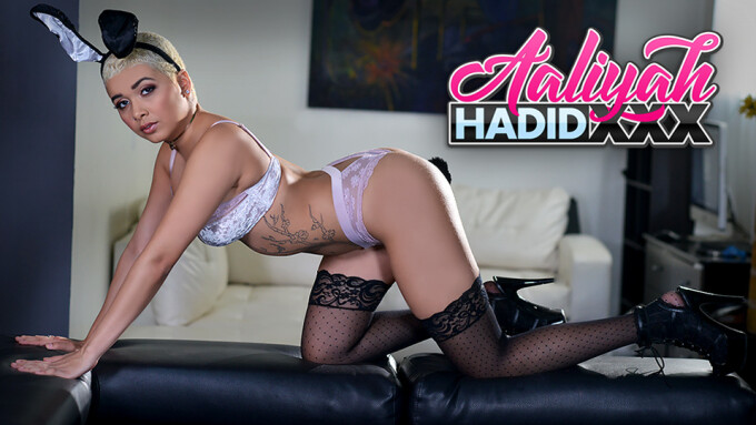 Aaliyah Hadid Debuts Official Site on Crush Girls Network