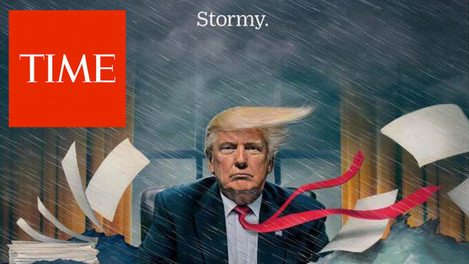 Time's Cover Awash With 'Stormy' Allusions