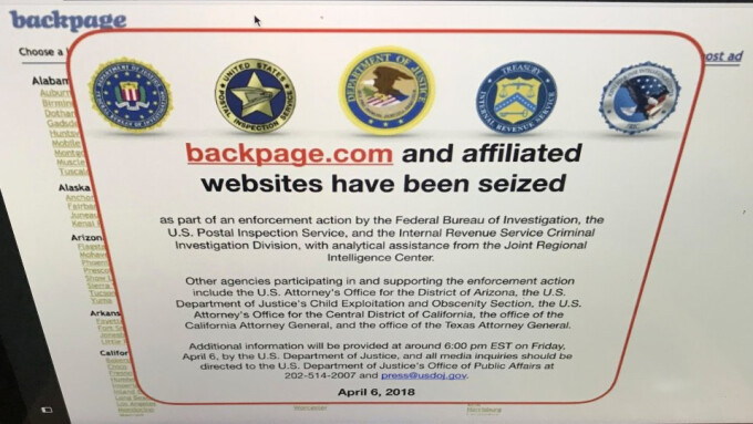 Backpage.com and Its CEO Plead Guilty to Charges
