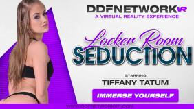 Tiffany Tatum Stars in DDF Network VR's 'Locker Room Seduction'