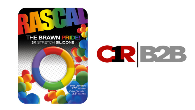 Rascal Toys Releases New Cock Ring in Honor of LGBTQ Pride