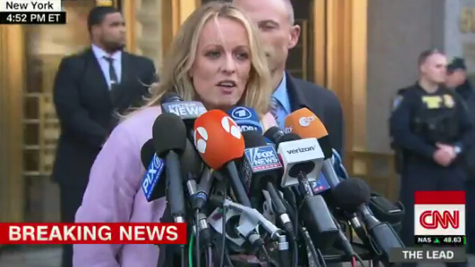 Stormy Daniels Blasts Michael Cohen After Court Hearing