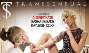 Aubrey Kate, Ruckus Star in TransSensual's Second 'TS Taboo'