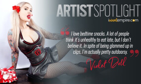 iWantEmpire Shines a Spotlight on Violet Doll