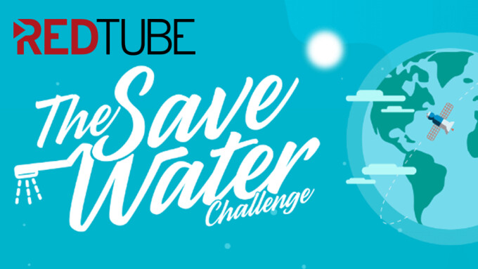 RedTube Launches App for 'The Save Water Challenge'