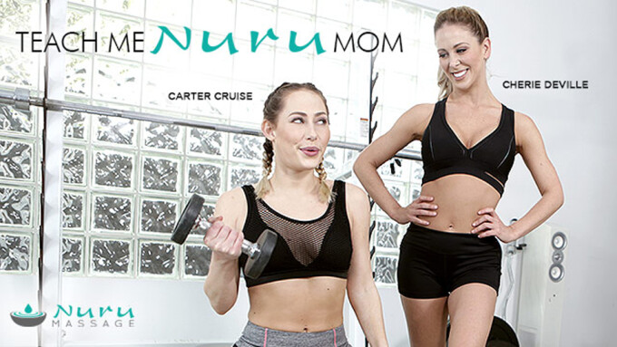 Cherie DeVille, Carter Cruise Star in Gamma's Newest Nuru Massage Release