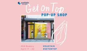 Sustain Natural Opens Pop-up Shop in New York