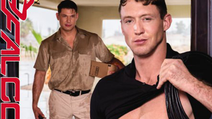 Skyy Knox, Johnny V 'Service' Each Other in New Falcon Studios Title