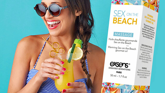 Exsens Offers 'Sex on the Beach' Gourmet Warming Massage Oil