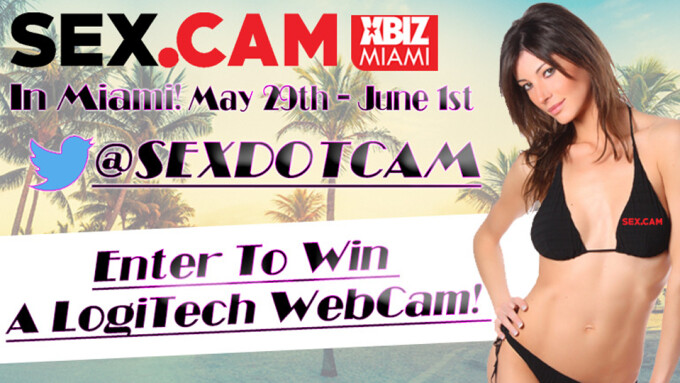 Sex.Cam to Hold XBIZ Miami Webcam Giveaway