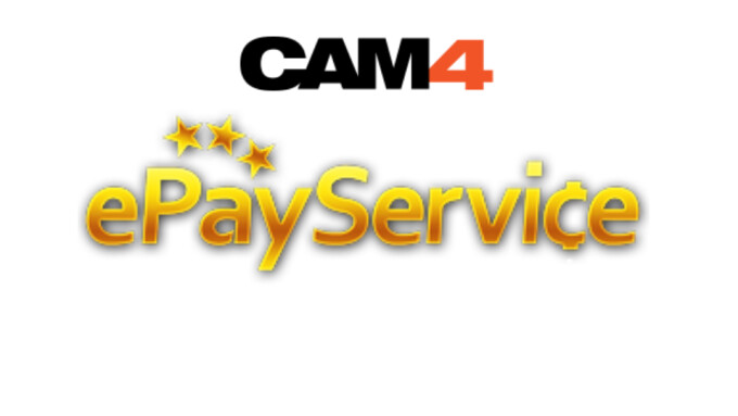 CAM4 Adds ePay Service as Payment Option