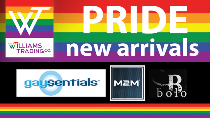Williams Trading Expands Pride Offerings to Include 3 PHS Lines