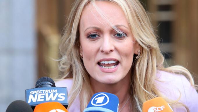 Stormy Daniels Sues Trump for Defamation