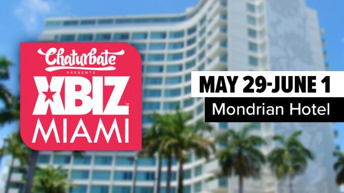 XBIZ Miami's Mondrian Sold Out, Nearby Hotel Added