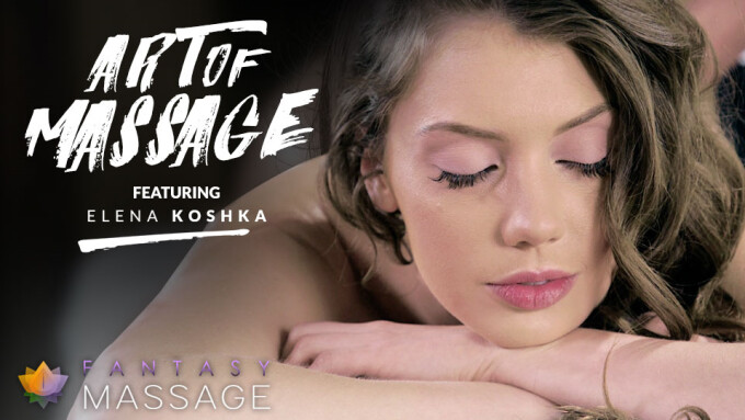 Elena Koshka Learns 'Art of Massage' in Fantasy Massage Scene