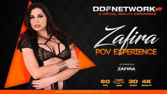 Zafira Stars in New POV Title From DDF Network VR