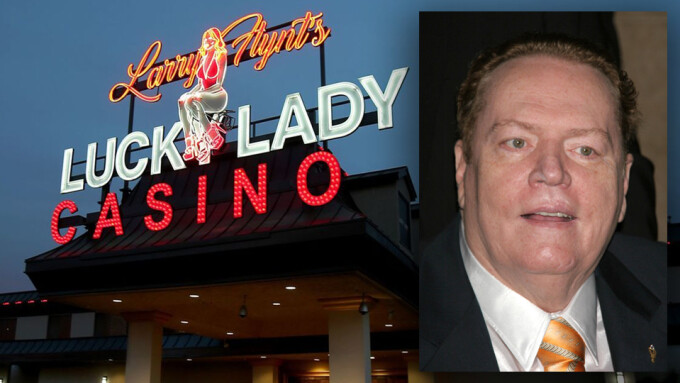 Larry Flynt Plans to Add Sports Betting Inside Casinos