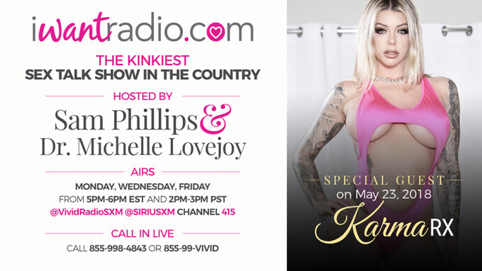 Karma Rx to Guest on iWantRadio Today