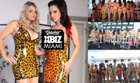 Vicky Vette, Rubberdoll to Host 6th Annual XBIZ Miami Bikini, Mankini Contest