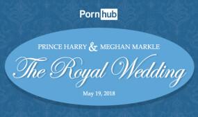 Pornhub Offers Stats on Royal Wedding Traffic