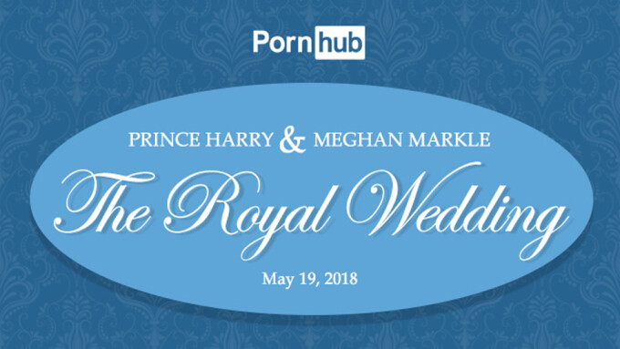 Pornhub Offers Stats on Royal Wedding Traffic