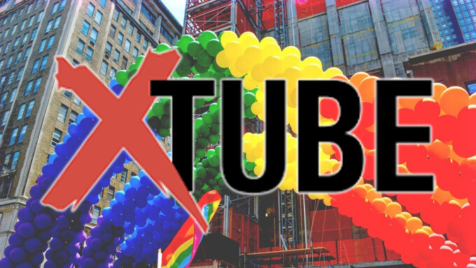 XTube Joins Fight For LGBT Equality at N.Y. Gay Pride