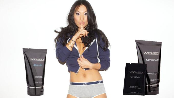 Asa Akira Touts Wicked Sensual Care Products in Column