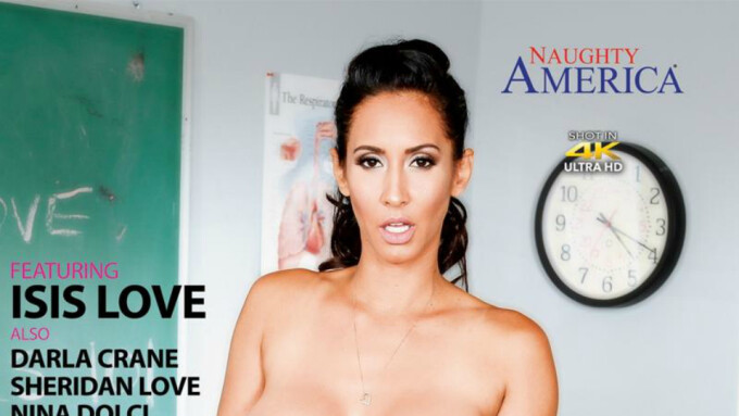 Naughty America Releases 'My First Sex Teacher 56'