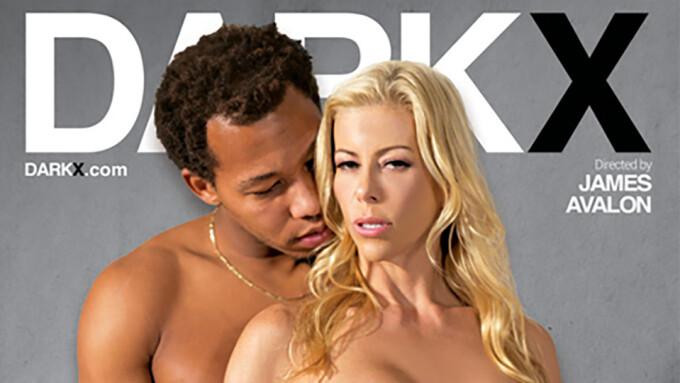 Alexis FawxStars in Dark X's 'Interracial MILFs 3'