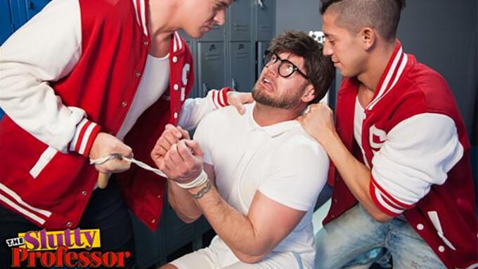 NakedSword Debuts Summer Hit 'The Slutty Professor'