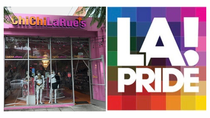 East Coast News Sponsors Pride Event at Chi Chi LaRue's West Hollywood Store