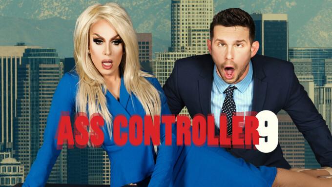 Alaska Thunderfuck, Casey Jacks Star in Men.com's 'Ass Controller 9'