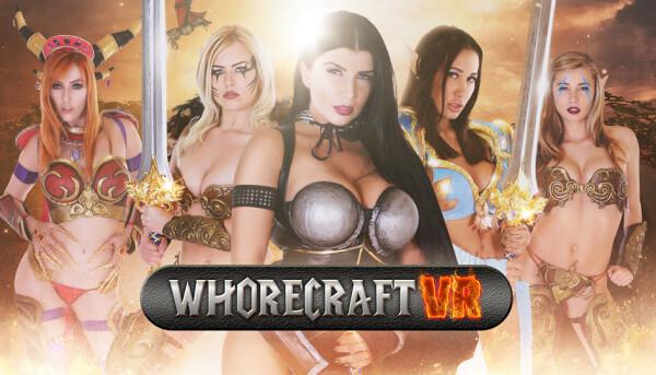 Stoney Curtis, AdultEmpireCash Launch Whorecraft VR