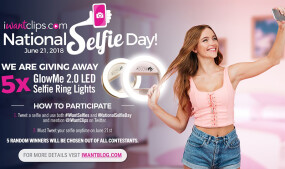 iWantClips' Newest Contest Celebrates National Selfie Day
