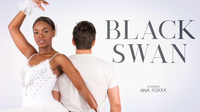 Ana Foxxx Flexes in New VR Scene, 'Black Swan'