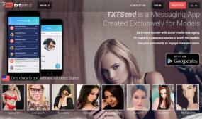 TxtSend Debuts Mobile Cam, Clip, Fan Platform