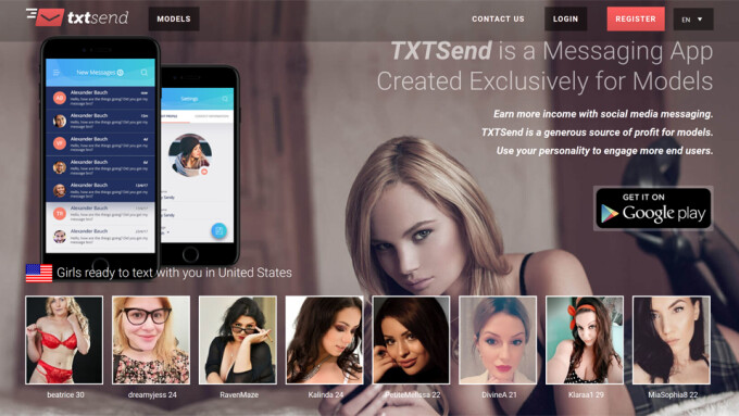 Siteways Group Launches TxtSend Mobile Cam, Clip, Fan Platform
